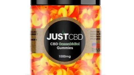 Peach Rings Gummy Jar by Just CBD Review