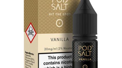 Vanilla Nic Salt E-Liquid by Pod Salt Review